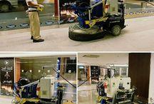 www.Klindex-America.com / Floor grinding machine, polished concrete system, diamond tools