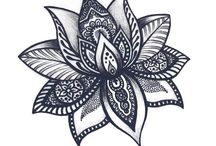 Henna//tattoos / Designs i like- i want to get some of these- also i  doodle them for fun