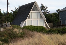 A-Frames of Florence / We still have an amazing bounty of a-frames here in Florence Oregon, trying to document them before they all disappear.