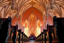 Churches, Chapels and Cathedrals~Inside & Out / by Jennifer Moyer Wilkinson