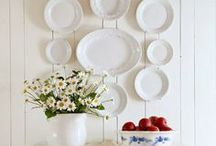 Plates On The Wall / Plates...plates...weren't they made to display on the wall? / by Patty Dahl
