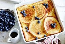 Breakfast + Brunch / Recipes and ideas to start the day with the most important meal.