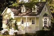 Sunshine Cottage / Cottage charm in yellow! / by Patty Dahl