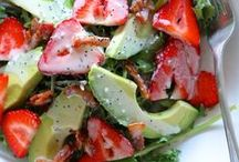 Food ~ Salads / Nothing better than a great Salad!