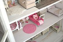 Doll house decorating