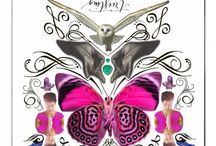 Inner Alchemy Cards - Water Coven / My first round of creating Alchemy cards with Mindy Tsonas - Spring 2015