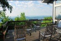 NPS Lodges & Camping / Lodges and campgrounds on the Blue Ridge Parkway, and in Shenandoah National Park and the Great Smoky Mountains National Park.