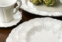 White Dishes / If it's white and it's a dish....I love it! / by Patty Dahl
