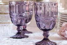 Glassware ~ Crystal / I love pretty goblets and glassware! / by Patty Dahl