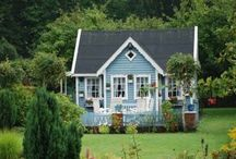 Little Blue Cottage / Cottage charm in blue. / by Patty Dahl