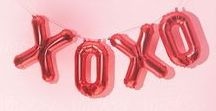 XOXO / Looks and pictures we love for this Valentine's Day.