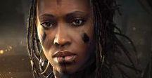 ⚔ Female • Ebony