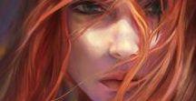 ⚔ Female • Redhead