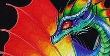 ⚔ Dragon • Rainbow