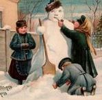 Christmas Cards Victorian / Vintage Christmas Cards with greetings in English, Norwegian, Swedish, German, and Russian: https://americanliterature.com/christmas-cards