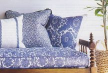 blue & white / For lovers of all things blue and white with a touch of the Hampton style we all love.