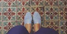Tiles and pavements / Nézzalábadeléfiam!