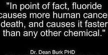 Dangers of Fluoride / There have been studies that show fluoride is not only not good for your teeth but actually harms your teeth, bones, brain & nervous system. So why do our governments allow this neurotoxin to be added to our drinking water?
