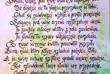 Calligraphy / Kaligrafia