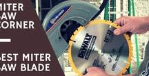 Best Miter Saw Blades / Searching for the best miter saw blades of 2017? My board reveals my top 3 picks as recommended by users.
