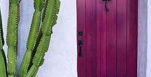 Architecture ∞ Belles portes, Beautiful doors / Photographies de belles portes, architecture. Beautiful doors.