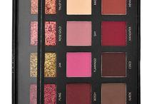 Rose gold palette looks