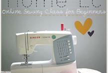 sewing / by Angie Auker Kissinger