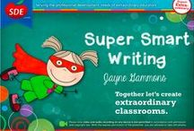 Super Smart Writing Workshop / If you attended my Super Smart Writing workshop for SDE, this board is for you!