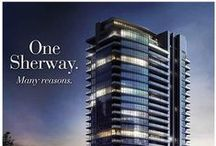 Menkes One Sherway (Etobicoke) / One Sherway is lifestyle living without the high-end price tag. Offering you a chance to loosen the purse strings and indulge in the amenities that surround you. With access to the TTC steps from your home and one of Canada's most luxurious malls in your backyard, relish in the opportunity to experience life on a grander scale in Etobicoke.
