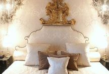 Beautiful bedrooms... / My refuge after a long day....beautiful and completely indulgent! / by Nella Miller Design