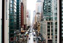 the big apple / Manhattan, NY / by Emily Smith
