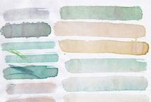 colour palette. / the variety of color || color combinations, muse boards, and mixings of graphic design / by Charity ||