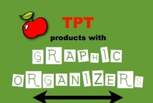 TPT products with Graphic Organizers / This board is a collection of TPT products that include graphic organizers of any type. If you would like to join, simply email jaynestamp@cox.net Also visit: http://www.teacherspayteachers.com/Store/Jayne-Gammons and http://smartkidsgammons.blogspot.com and http://abcsofreading.blogspot.com / by Smart Kids