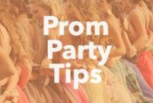 Prom Party Tips / Prom Party Tips from celebrity party planner Jes Gordon! #prom #prom2014 #prom14 / by PromGirl