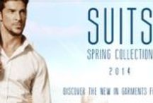 Spring Suits / T4L presents it's new Suit Collection! essential during Spring 2014.