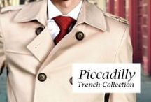 Piccadilly Trench Collection / New T4L Collection! Get inspired with multiple customization options and fabrics