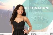 Destination: New York / Summer 2014 Destinations / by PromGirl