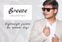 Breeze Collection / T4L presents its New Lightweight Collection of jackets!