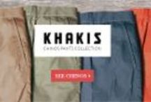 KHAKIS COLLECTION / Discover the Newest T4L Chino Pants Collection
