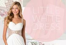 Trend: Lil White Dresses / by PromGirl