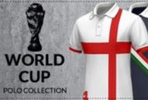 World Cup Polo Collection / Support your team with your custom polo shirt!