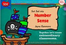 """Kindergarten Number Sense Workshop / If you attended my """"Set Sail for Number Sense"""" workshop for SDE, this board is for you! Lots of ideas for the critical phases: Number Counting, Number Relationships, Number Combinations, Place Value."""