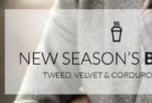New Season's Blazers / Tweed, Velvet and Corduroy Fabrics! Discover the Recommended Autumn Blazers!