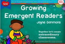 Emergent Reading Workshop / If you attended my workshop on emergent reading, this board is for you!