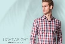Lightweight Shirts Collection / Light, Cool and Breathable New Shirt Fabrics. Get inspired with our new shirt collection
