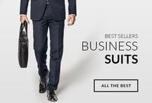 Best Sellers Business Suits / Look good, feel good. Take a look at Our Best Sellers Suits