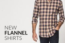 Flannel Shirts / Soft and Warm, a perfect addition to your wardrobe. You can't have a closet without a plaid flannel shirt. Essential garment to keep you warm during colder times.