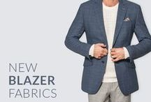 New Arrivals - New Blazer Fabrics / Find your Next Blazer. Choose your New Jacket among Corduroy, Broken Twill, Moleskin, Beaverteen and Wool fabrics.