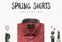 Spring Shirts / No Winter Lasts forever... Get ready for spring, be ready for the adventure! Dotted, micropattern, stripped patterns in cotton lightweight fabrics. You choose your shirt's fabric and customize it the way you want it, we tailor it made to measure.