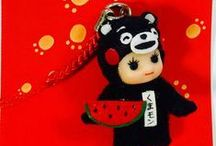 Regional Kewpie - Kyushu - / ご当地キューピー【九州】のコレクションです。